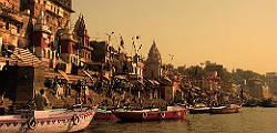 La ciudad de la peregrinación: Varanasi